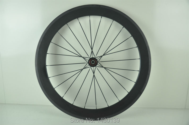 1pcs New 700C 60mm clincher rim Road Track Fixed Gear bike 3K UD 12K full carbon bicycle wheelset 20.5/23/25mm width Free ship 1pcs new 700c 60mm clincher rim road track fixed gear bike 3k ud 12k full carbon bicycle wheelset 20 5 23 25mm width free ship