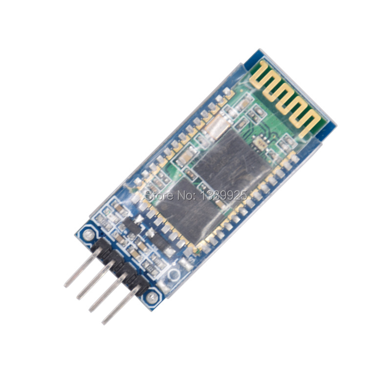 HC-06 Bluetooth serial pass-through module wireless serial communication from machine Wireless <font><b>HC06</b></font> for <font><b>arduino</b></font> Bluetooth Module image