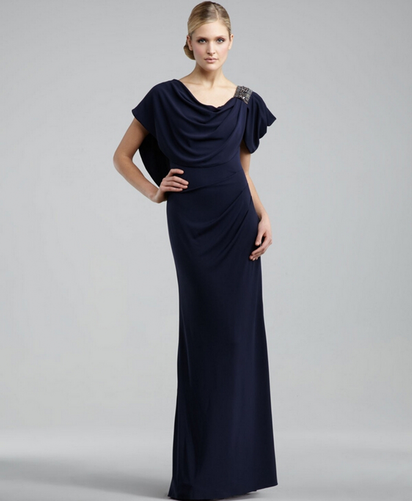 Buy summer navy blue mother of the bride for Summer wedding mother of the bride dresses