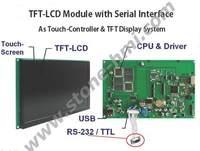 Oferta Módulo LCD TFT de piedra de 7 0 pulgadas con pantalla táctil de color HD