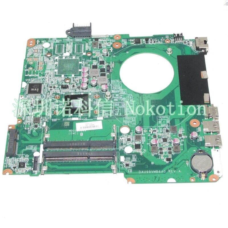NOKOTION 846803-601 846803-001 Laptop motherboard For HP Pavilion 15-F A8-7410 CPU Onboard DAU99VMB6A0 Mainboard full WORKS nokotion original 854944 601 854944 001 laptop mainboard for hp 250 g5 motherboard sr2kn n3060 bdl50 la d702p works
