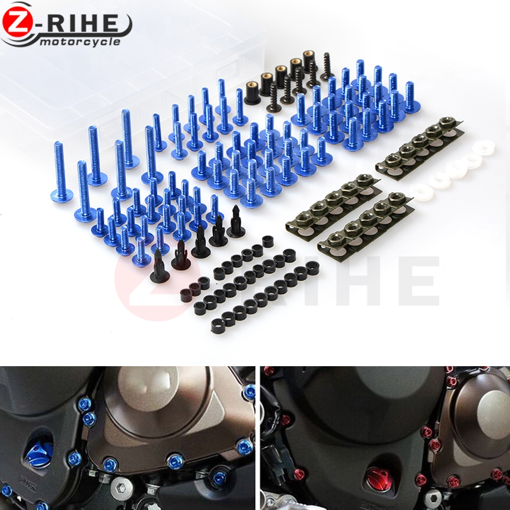 Universal Motorcycle Accessories Fairing body work Bolts Screw For Yamaha TMAX 500 MAX-500 MAX530 2001-2006 2002 2003 2004 2005