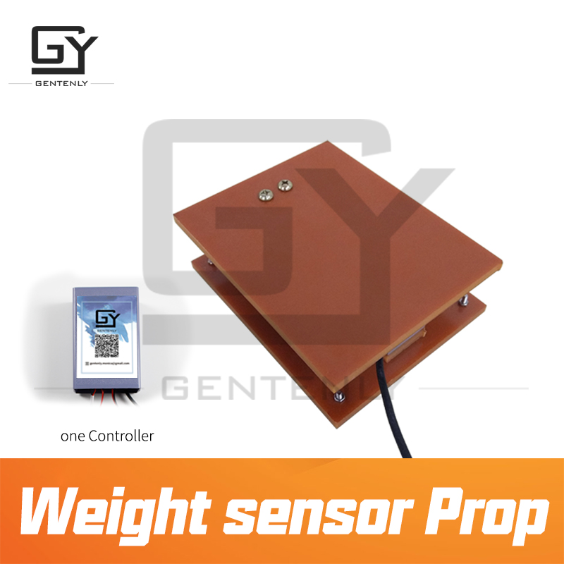 Escape room prop Weight Sensor Prop put the object with correct weight on the sensor to