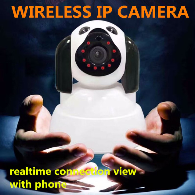 IP Camera WiFi Wireless Smart Security support Micro SD card Network Rotatable Defend for family Telecam HD Cctv IOS PC pt audio