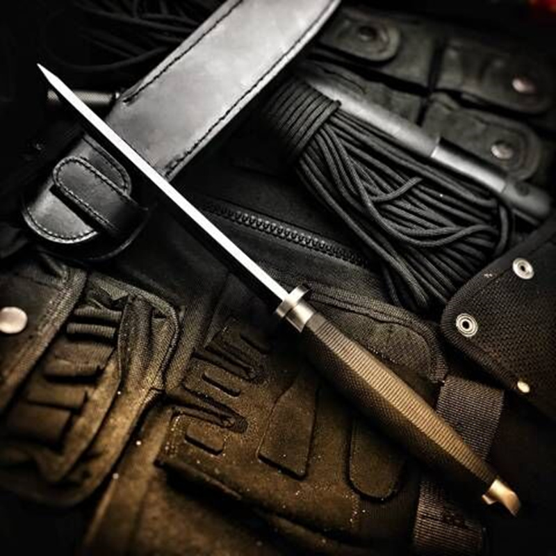 High Hardness Fixed Blade Tactical Knife Outdoor Army Hunting Knifes Survival Gear Straight Knives Combat Katana Camping Tools 5