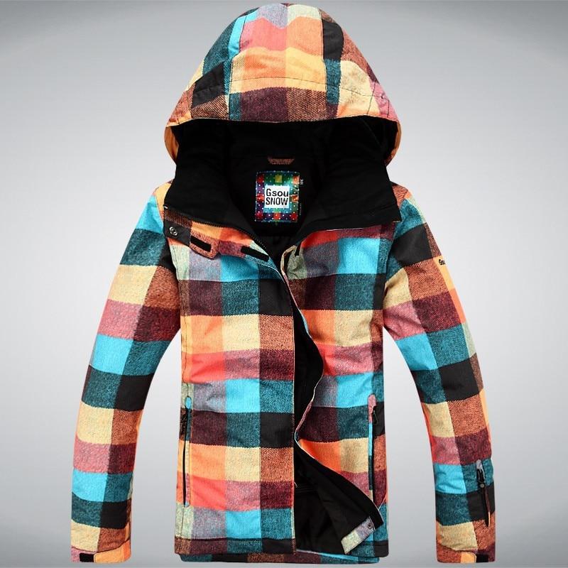 Online Get Cheap Plaid Snowboard Jacket -Aliexpress.com | Alibaba ...