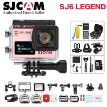 Original SJCAM Sj6 Legend Wifi Notavek 96660 4K 16 MP Touch Screen Waterproof Diving Sj remote Sports better go pro  Action Cam