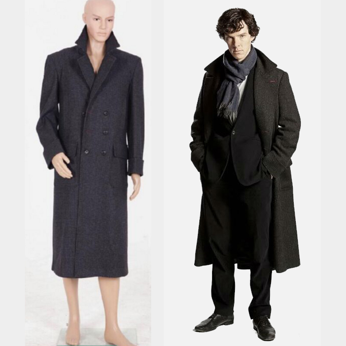 online buy wholesale sherlock costume from china sherlock costume wholesalers. Black Bedroom Furniture Sets. Home Design Ideas