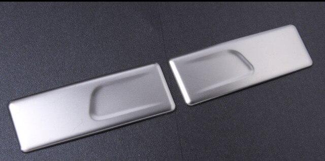 Auto bracciolo posteriore scatola di supporto di tazza del pannello di copertura paillette sticker per Mercedes Benz classe C W205 GLC X253 GLA X156