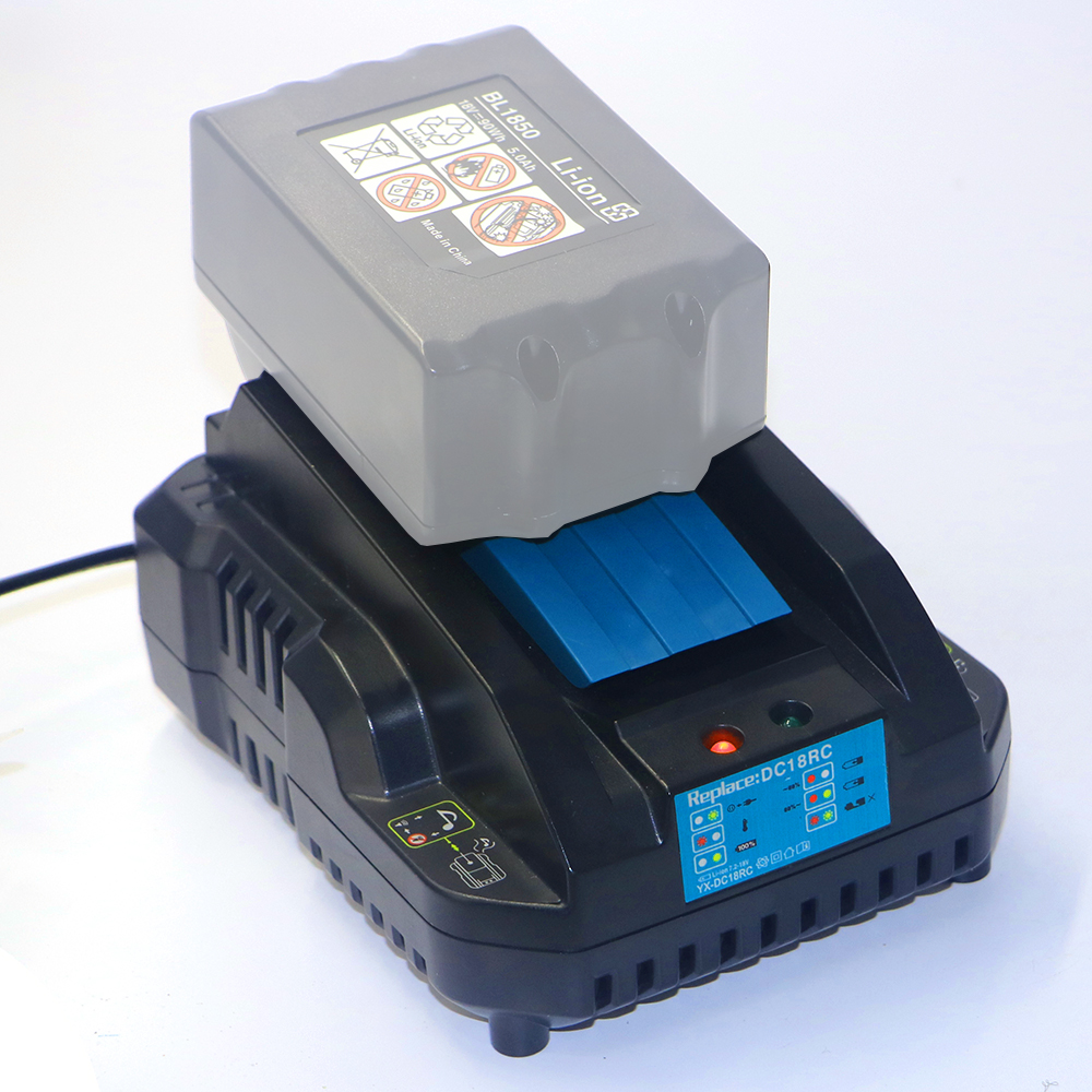 DVISI DC18RC Li-ion Batteries Charger 4A Charging Current for Makita