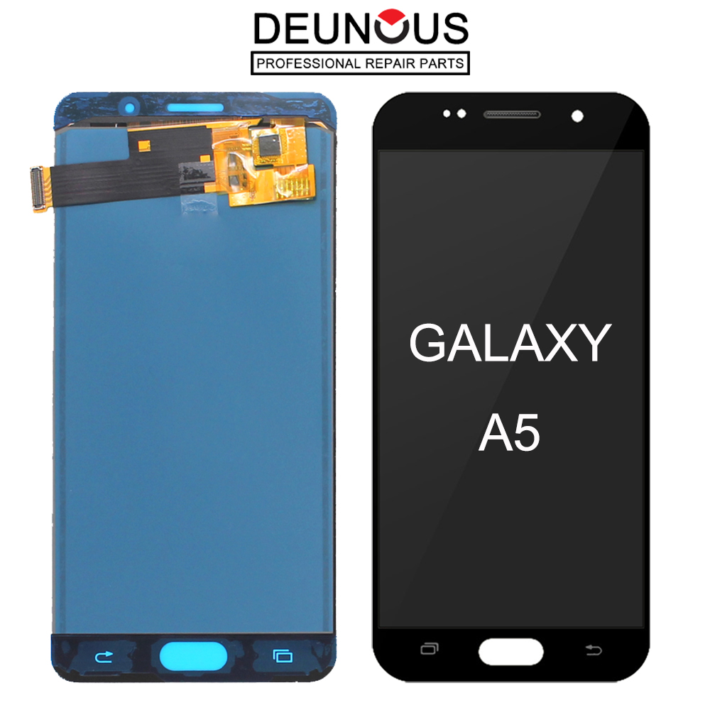<font><b>A510F</b></font> <font><b>LCD</b></font> For <font><b>Samsung</b></font> Galaxy <font><b>A510F</b></font> <font><b>LCD</b></font> A5 Duos (2016) A510M Screen A510Y <font><b>LCD</b></font> Display Touch Screen Digitizer with Frame image