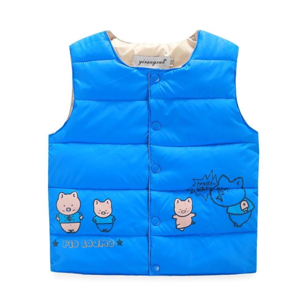 Retail 2016 New Baby Boys Girls Winter Vest Kids Warm ...