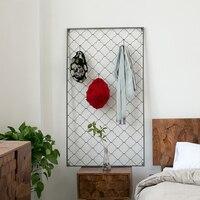 Creative Industrial Wind Decorative Hooks Wall Coat Hat Rack Wall Handmade Iron Bedroom Wall Decoration Racks Home Decoration
