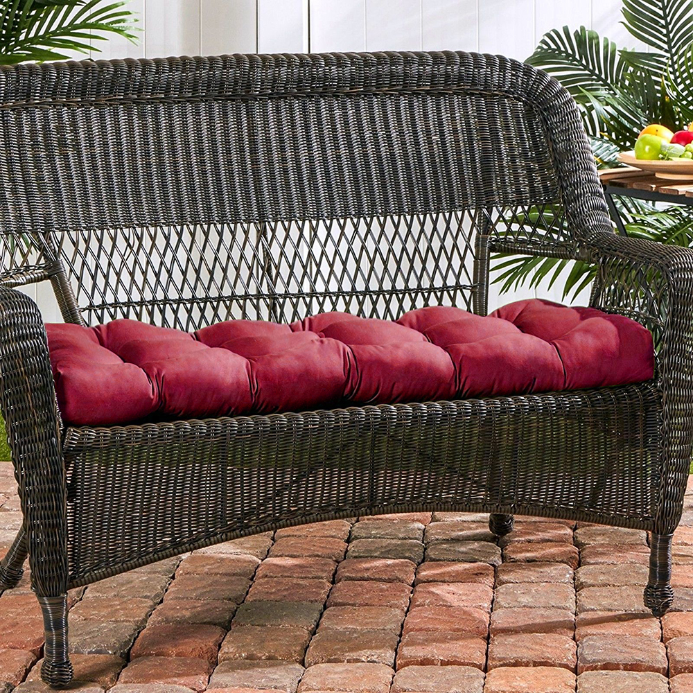 Admirable Garden Furniture Cushion Bench Pillow Seat Cushion Inzonedesignstudio Interior Chair Design Inzonedesignstudiocom