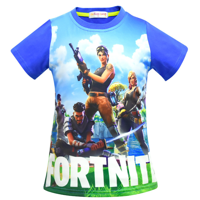 Boys Tops Summer 2018 Brand Children T shirts Boys Clothes Kids Tee Shirt Fille 100% Cotton Ninja Print Baby Boy Clothing 3
