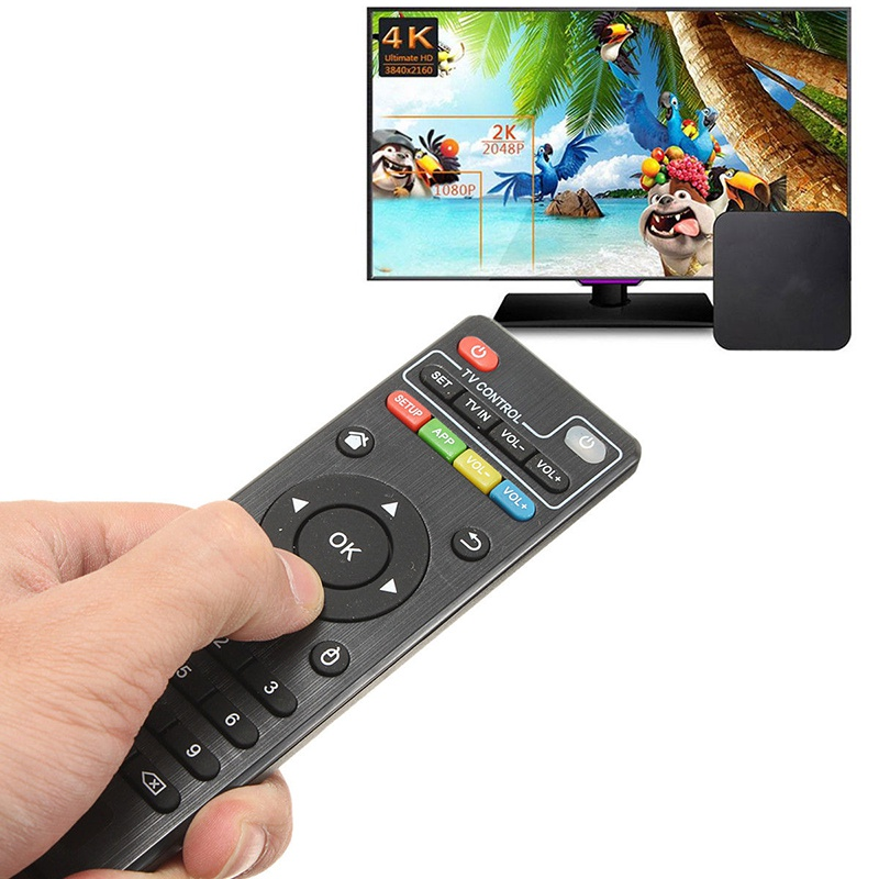Remote Control Replacement Controller for Top <font><b>Box</b></font> for H96 <font><b>MXQ</b></font> MX <font><b>Pro</b></font> <font><b>4K</b></font> T95M Android Smart <font><b>TV</b></font> <font><b>Box</b></font> Home Remote Controller image