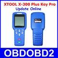 Mais novo originais x-300 plus auto programador chave xtool xtool x300 x300 pro + com funções especiais obdii ferramenta de diagnóstico do motor