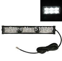 12V 18 LED White Emergency Roof Strobe Light Vehicle Car Truck Flash Lamp Bulb