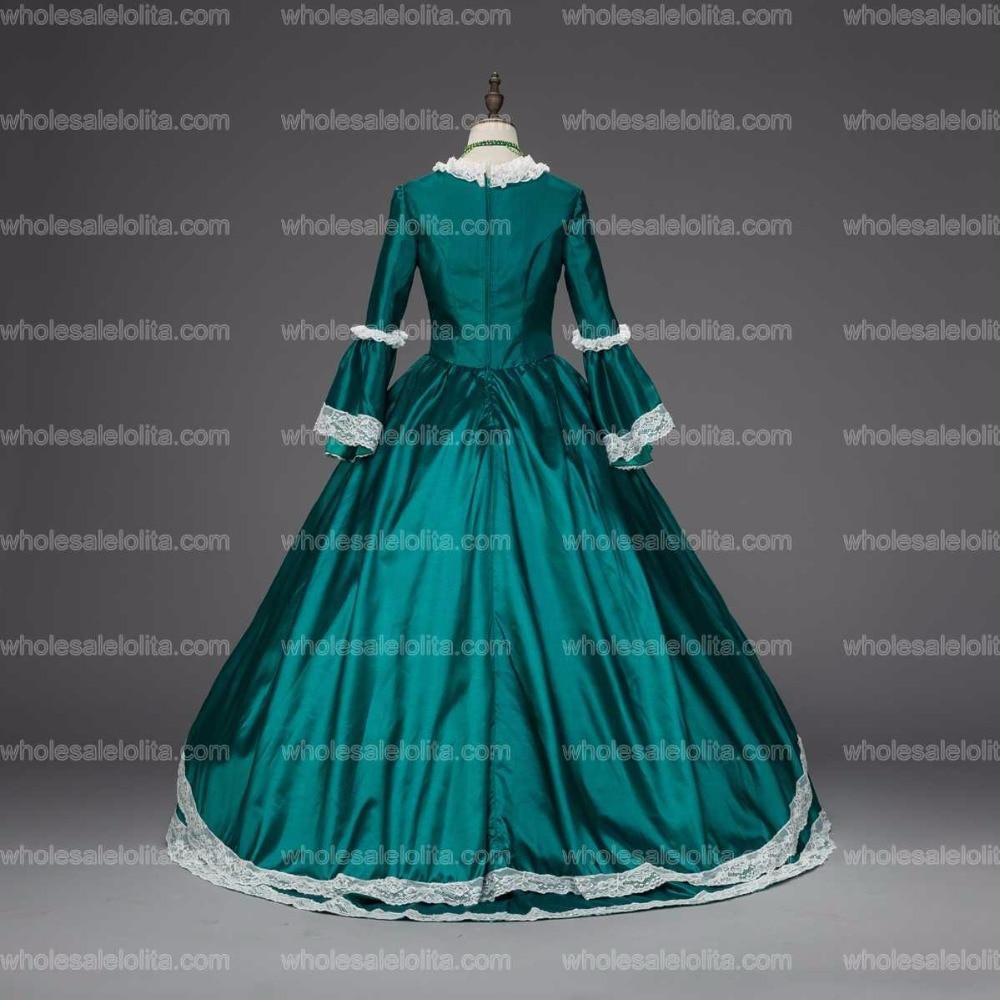 Georgian Marie Antoinette Christmas Dress Caroling Costumes ...