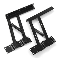 2PCS Multi functional Lift Up Top Mechanism Spring Hinge Hardware Coffee Table Lifting Frame