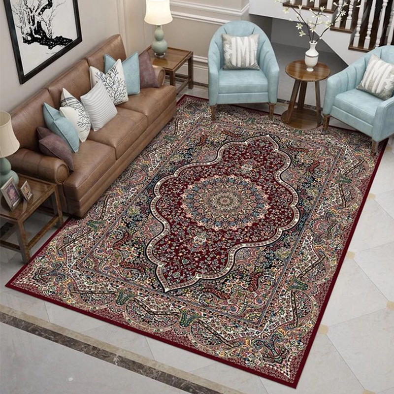 Persian Style Carpets For Living Room 100% Polypropylene Bedroom Rugs And Carpets Turkey Study Area Rug Coffee Table Floor MatPersian Style Carpets For Living Room 100% Polypropylene Bedroom Rugs And Carpets Turkey Study Area Rug Coffee Table Floor Mat