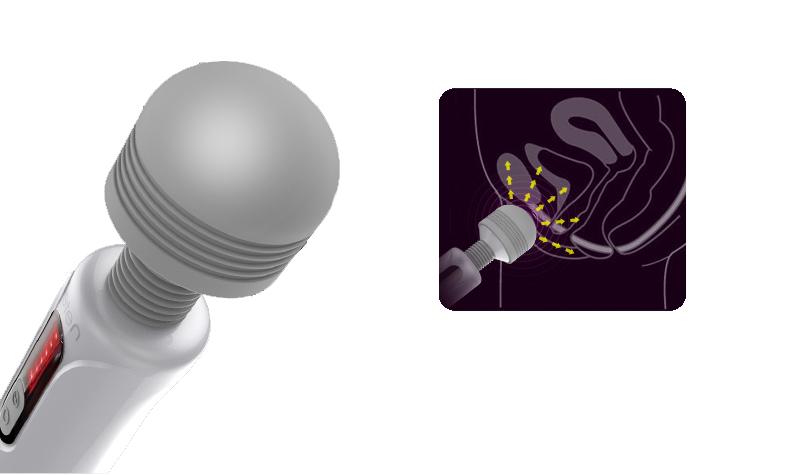 Lightning Multi Speeds Dildo Vibrator Clitoris Stimulator Magic Wand Body Massage Stick Magic AV Wand Sex Toys For Women 7