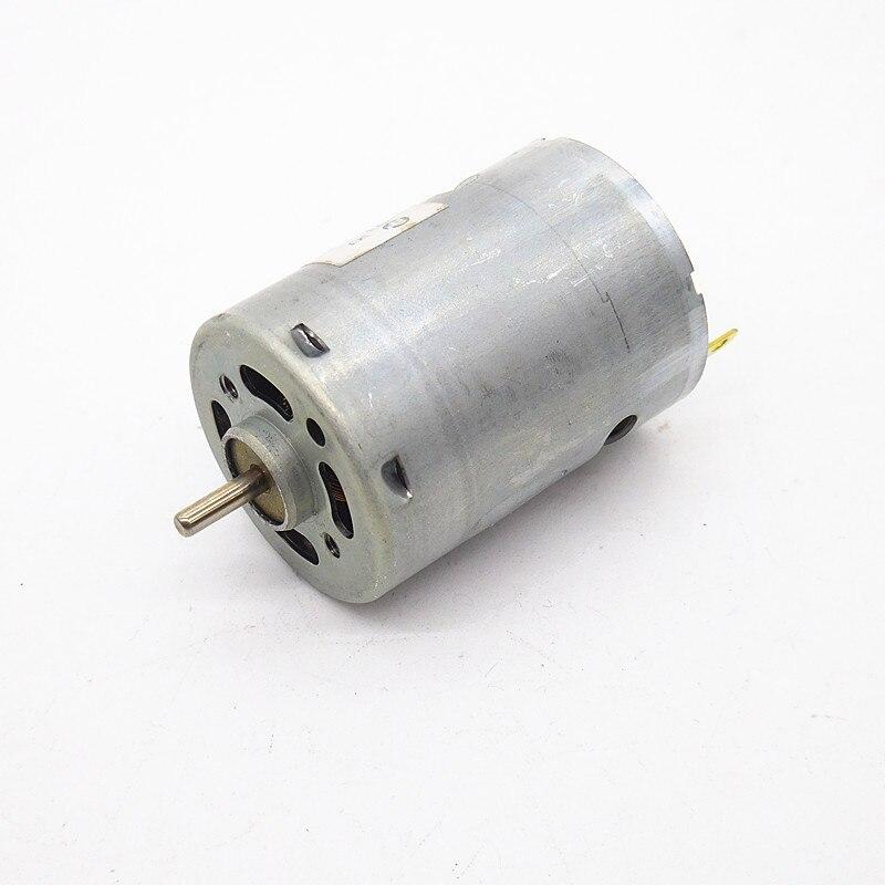 Rs385 motor micro dc motor micro motor 12v 24v hair dryer for Dc motor hair dryer