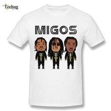 Man Hip Hop Migos T Shirt Round Neck Design Soft Cotton Quality Print