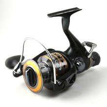 7+1BB 5.5:1 JD6000 Fishing Reel 16LB/220Yards , 20LB/170Yards , 24LB/140Yards Bait Runner Reel Spinning reel Free Fisher