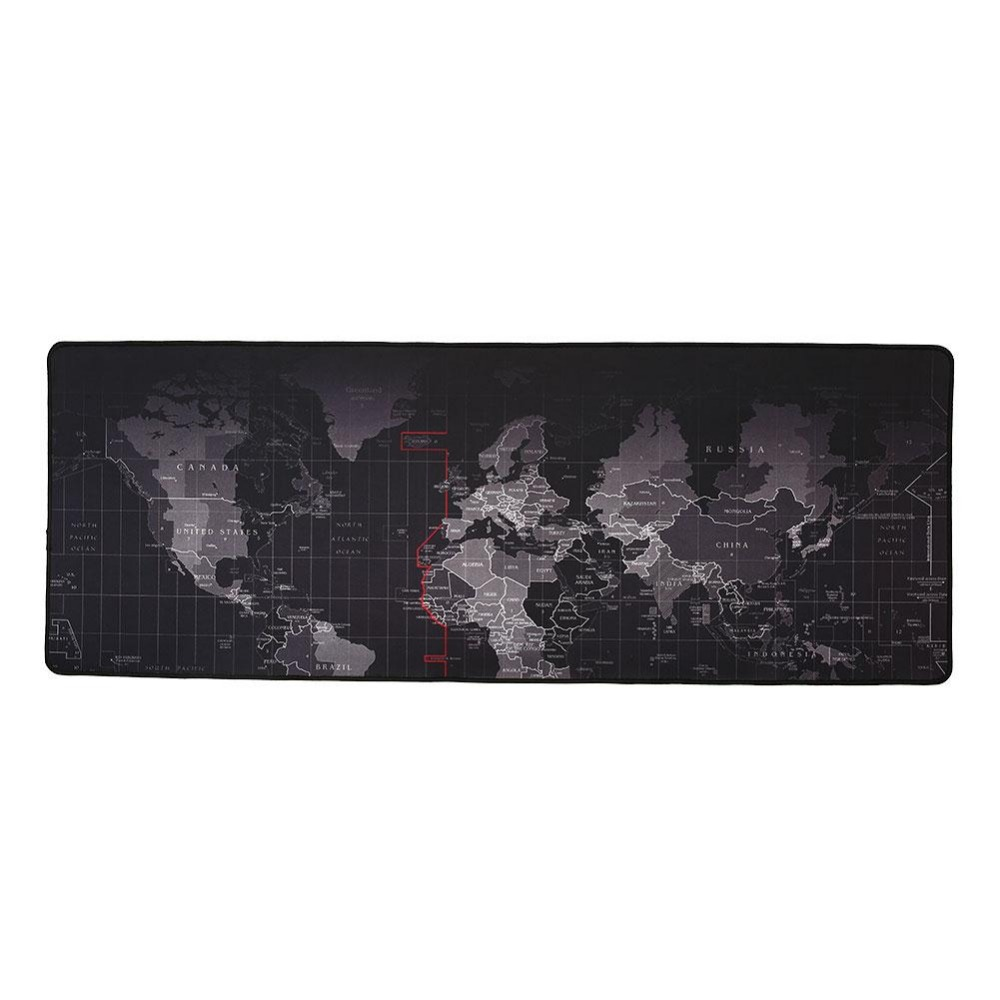 Super Large World Map Mouse Pad Notbookputer Laptop Mouse Pad 2017 New  High Quality(