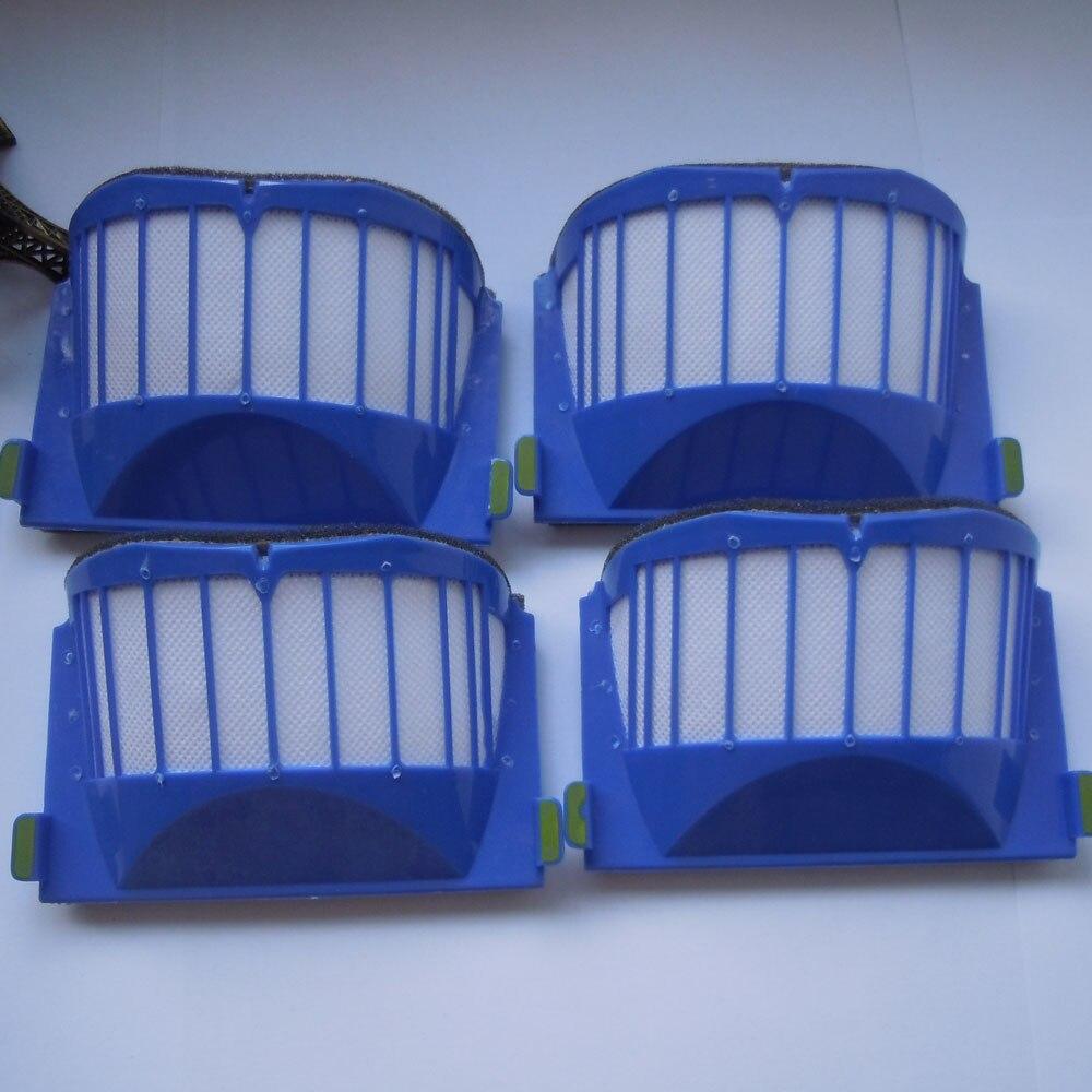 20 pieces AeroVac Blue Filter for iRobot Roomba 500 550 551 552 Vacuum Cleaner Drop shipping samsung rs 552 nruasl