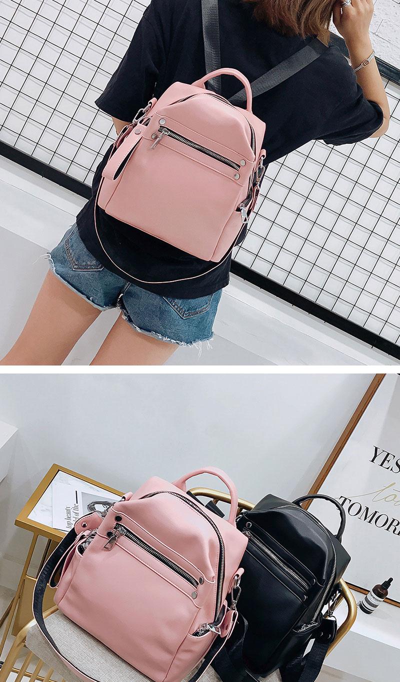 HTB19XAFSYrpK1RjSZTEq6AWAVXa3 Women Backpack Female 2018 New Shoulder Bag Multi-purpose Casual Fashion Ladies Small Backpack Travel Bag For Girls Backpack