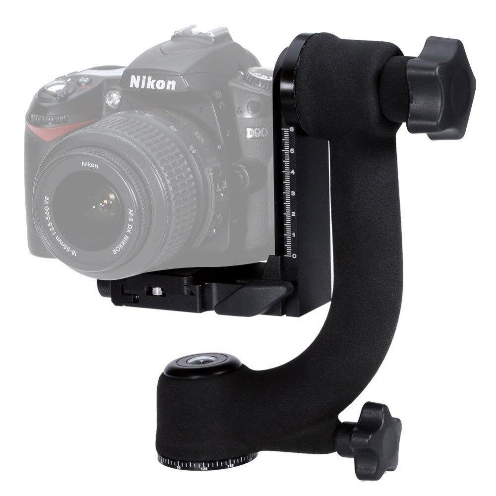 bilder für Mcoplus Berufs Schwere Metall Gimbal 360 Stativkopf Ball mit Arca-swiss Standard Schnellwechselplatte für DSLR kamera