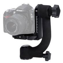 Mcoplus Professional Heavy Duty Metal Gimbal 360 Tripod Head Ball with Arca-Swiss Standard Quick Release Plate for DSLR Camera