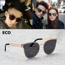 JackJad 2017 Fashion Cool Quality Metal Frame ECO Style Sunglasses Women Men Cat Eye Brand Design Sun Glasses Oculos De Sol 3580