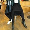 Мода старинные 2015 шаровары мужской личности брюки мужские женские повседневные брюки этап певица костюмы одежда платье