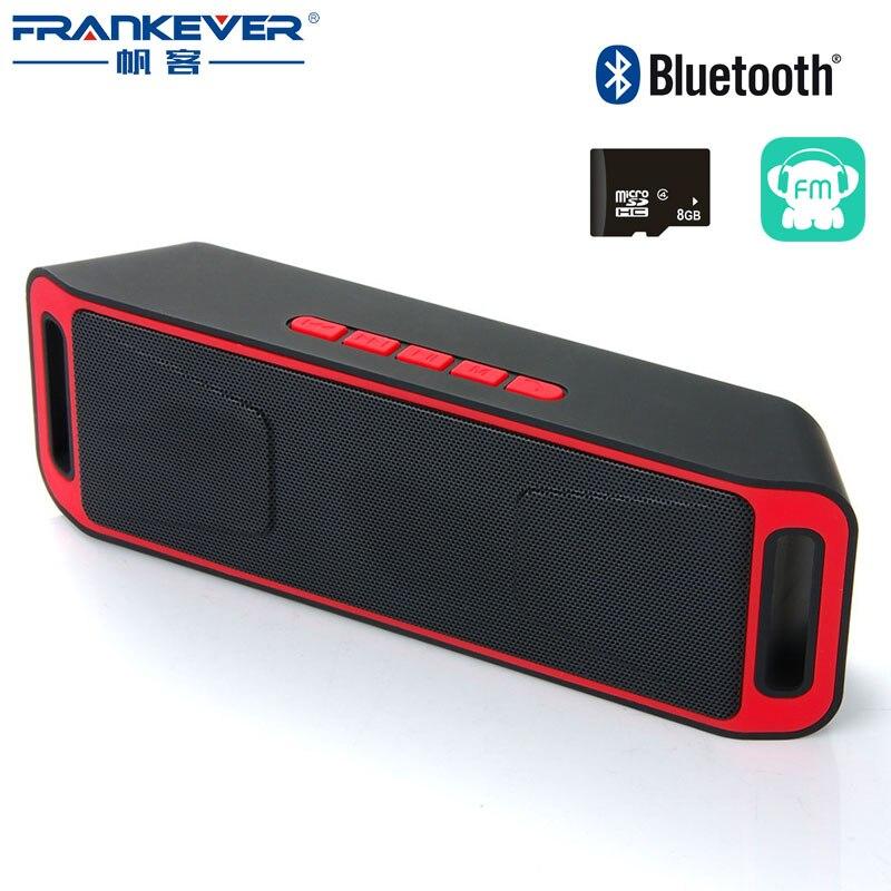 sc208 Portable Wireless Bluetooth Speaker car TF usb mp3 music play FM Radio Dual mini stereo super bass Subwoofer phone speaker адаптер usb bluetooth v 2 0 mobiledata ubt 208