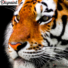 Dispaint Full Square/Round Drill 5D DIY Diamond Painting Animal tiger Embroidery Cross Stitch 3D Home Decor Gift A10145 dispaint full square round drill 5d diy diamond painting animal tiger sceneryembroidery cross stitch 3d home decor gift a11463