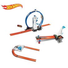 Hot Wheel Car Track  Racing Variety Cool Accelerated Track Set 2017 Hotwheels Car Track Toy for Children Plastic Material DNH84