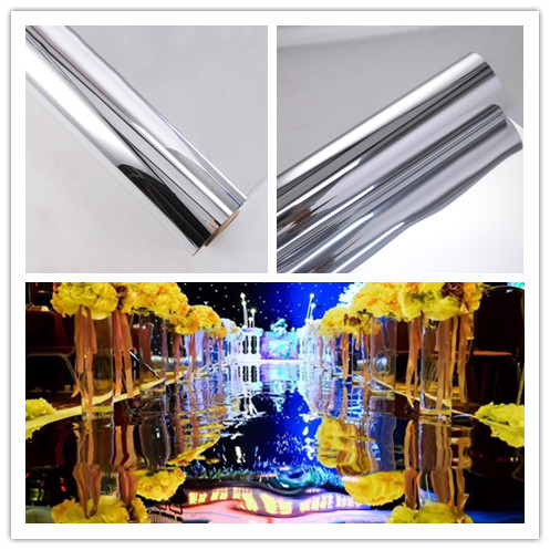 Free Shipping 20meters/lot,1.2meter width,0.13mm thickness,Wedding Mirror Carpet,T Stage Mirror Carpet silver
