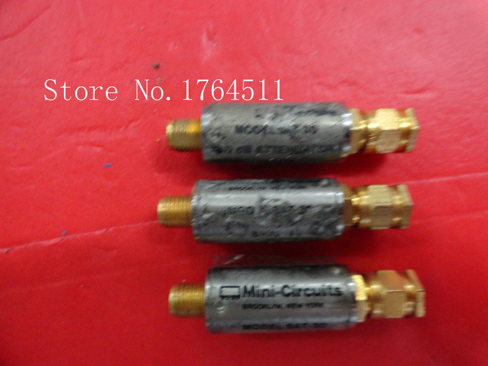 [BELLA] Mini SAT-30 50dB 0-1GHz Fixed Attenuator  --5PCS/LOT