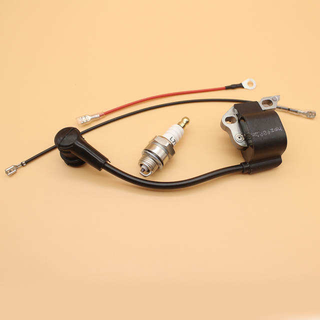 placeholder Bobina de ignição vela de Ignição Para MOTOSSERRA STIHL 017 018  MS170 MS180 Motosserra MS 170 6416e00751