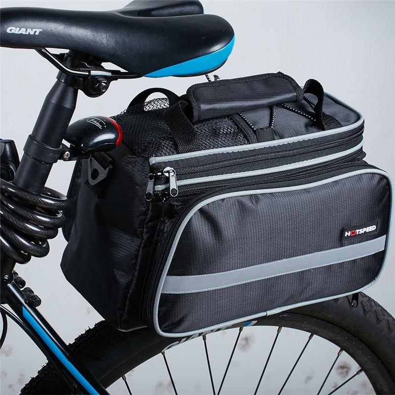 Vodotěsná taška na horské kolo pro jízdní kola, jízda na kole, oboustranný zadní zadní stojan, zadní sedadlo kufru zavazadlového prostoru Pannier