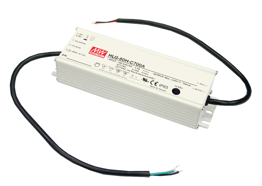 [PowerNex] MEAN WELL original HLG-80H-54B 54V 1.5A meanwell HLG-80H 54V 81W Single Output LED Driver Power Supply B type free shipping mean well hln 80h ip64 80w 12v 42v 48v 54v 181 61 35mm 90 305vac single output switching power supply