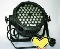 6 шт./лот дешевые мыть светодиодный свет открытый гобо проектор 54 шт. rgbw 3 Вт Водонепроницаемый LED PAR свет