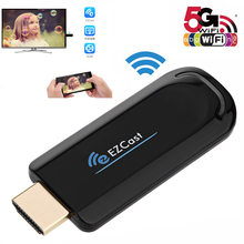 EZCast 5G 2.4G Wireless wifi Dongle TV HDMI Stick for IOS Android Windows Miracast DLNA Airplay 1080P Video Display Media Player