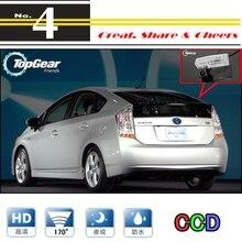 Для TOYOTA PRIUS 2009~ Автомобильная камера высокого качества камера заднего вида для PAL или NTSC для использования/CCD+ RCA