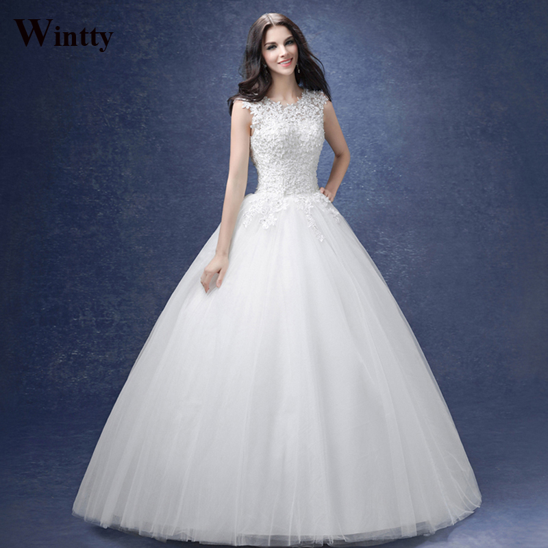 Buy wintty lace vintage elegant wedding for Elegant wedding dresses 2017