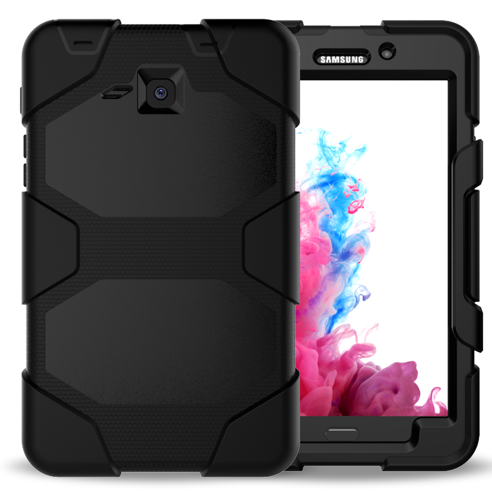 10Pcs/Lot Armor Case 4 In 1 Removable Extreme Heavy Duty Hard Skin Cover With Stand For Samsung Galaxy Tab A 7.0 T280 T285