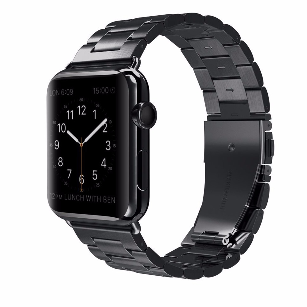 UEBN Classic Metal Stainless Steel Band for Apple watch Series 4 44mm 40mm Watchband Strap for iWatch 3 / 2 / 1 42mm 38mm image